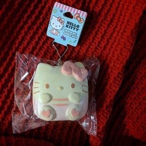 NWT Hello Kitty Squeeze Me Keychain
